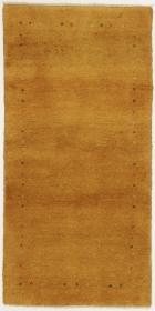 Perserteppich Gabbeh gelb (80x163cm)