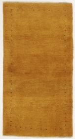 Perserteppich Gabbeh gelb (80x152cm)