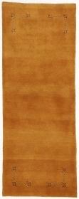 Perserteppich Gabbeh gelb (80x214cm)