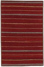 Perserteppich Kelim Stripe rot (101x154cm)