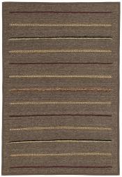 Perserteppich Kelim Stripe grau (103x153cm)