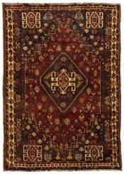 Perserteppich Shiraz rot (115x155cm)