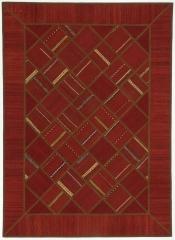 Perserteppich Patchwork Kelim rot (150x208cm)
