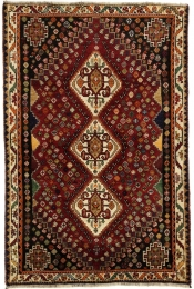 Perserteppich Shiraz rot (122x190cm)