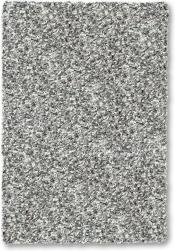 Kuschelteppich Twilight Weiss-Silber 6699