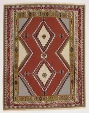 Perserteppich Kelim Ghash. rot (177x228cm)