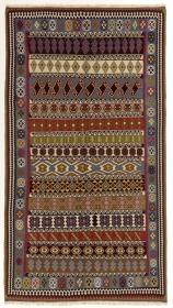 Perserteppich Kelim Ghash. Multicolour (162x300cm)