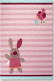 Kinderteppich Sigikid 3 HAPPY FRIENDS Stripes Sonderangebot