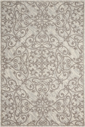 Teppich MonTapis Damask Ornament beige