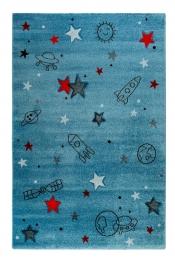 ESPRIT Kinderteppich Yoda blau ESP-21980-032