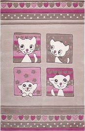 Sonderangebot Kinderteppich MonTapis Kitty Kat SM-3988-01