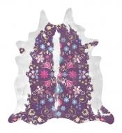 Teppich Mineheart Gypsy Cowhide Purple