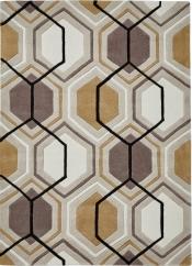 Teppich MonTapis HK-7526 Beige-Gelb