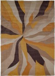 Teppich MonTapis Split Ocker