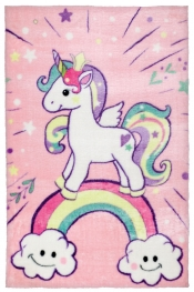 Kinderteppich MonTapis Lollipop Unicorn