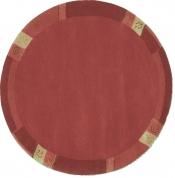 Teppich Manali 101 rot rund