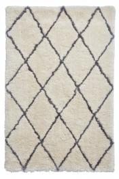 Kuschelteppich MonTapis Marokko 2491 Elfenbein/Grau