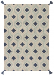 Teppich MonTapis Rustic blue