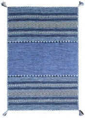 Teppich MonTapis Varo 2915 blau