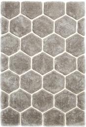 Kuschelteppich MonTapis NH-30782 Grau-Weiß