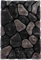 Kuschelteppich MonTapis NH-5858 Black/Grey