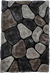 Kuschelteppich MonTapis NH-5858 Grey/Cobalt