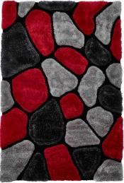 Kuschelteppich MonTapis NH-5858 Grey/Red