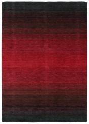 Teppich Momo Rugs Panorama Black Red