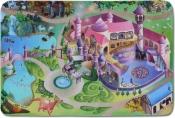 Kinderteppich MonTapis Spielwelt Prinzessinnenschloss