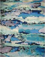 Teppich Alfombra Prismatic Seaglass
