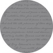 Teppich Mineheart Richard III. Amethyst round grey
