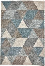 Teppich MonTapis 7611 Grau-Petrol