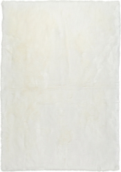 Teppich MonTapis Kunstfell Ivory
