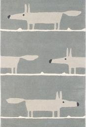 Scion Teppich Mr Fox Silver 25304