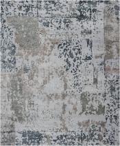 Teppich Alfombra Silky Feeling Silver