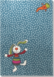 Kinderteppich Sigikid Rainbow Rabbit Blau