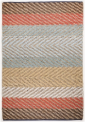 Sonderangebot Tom Tailor Teppich Smooth Comfort Pastel Stripe natural multi 115