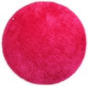 Tom Tailor Kuschelteppich Soft Uni pink rund