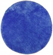 Tom Tailor Kuschelteppich Soft Uni blau rund