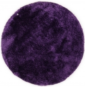 Tom Tailor Kuschelteppich Soft Uni violett rund
