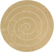 Teppich MonTapis Schnecke Gold