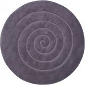 Teppich MonTapis Schnecke Grau