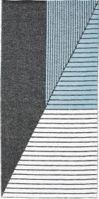 Teppich Horredsmattan Stripe 13403