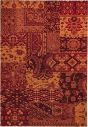 Teppich MonTapis Timeless 003-220 bordeaux