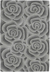 Teppich MonTapis Valentine VL-10 Grau