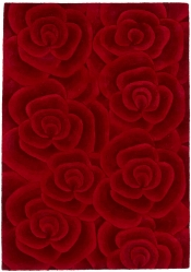 Teppich MonTapis Valentine VL-10 Rot