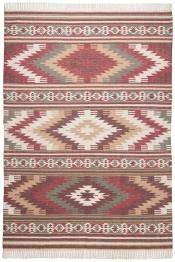 Sonderangebot Tom Tailor Teppich Vintage Kelim Colors I red 200