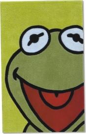 Kinderteppich WD-330 Muppets-Kermit