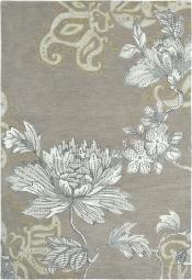 Wedgwood Teppich Fabled-Floral grau